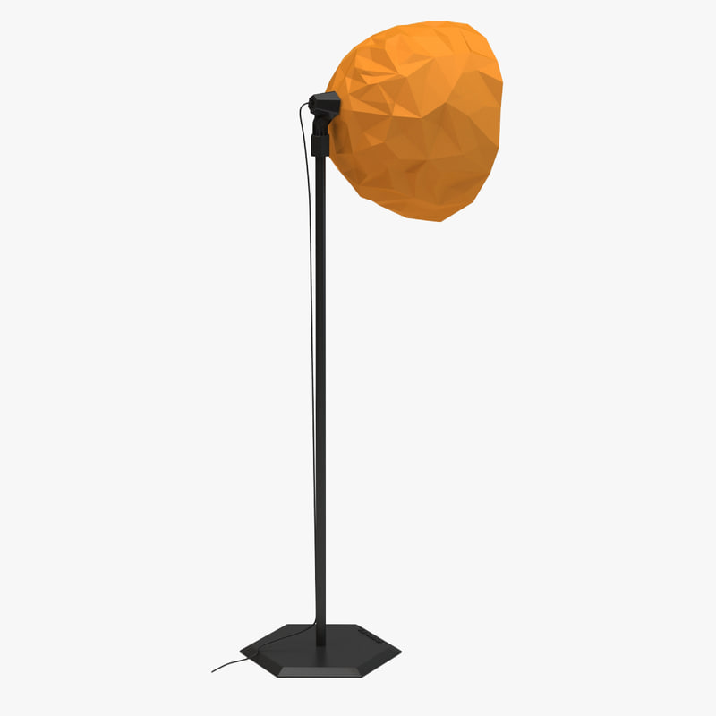 foscarini diesel rock floor 3d model