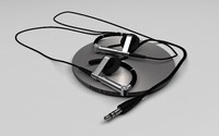 bang olufsen a8 headphones 3d model