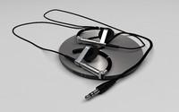 bang olufsen a8 headphones 3d model