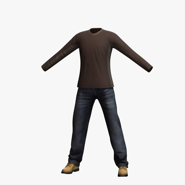 3d model mens clothing 18
