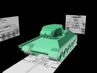 t34 rus 3d model