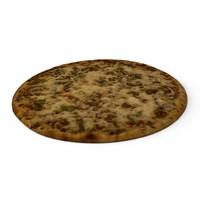 3d model mexicana pizza
