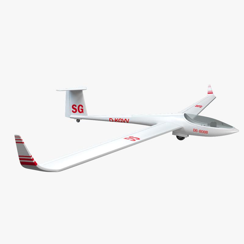 glider dg 808 max