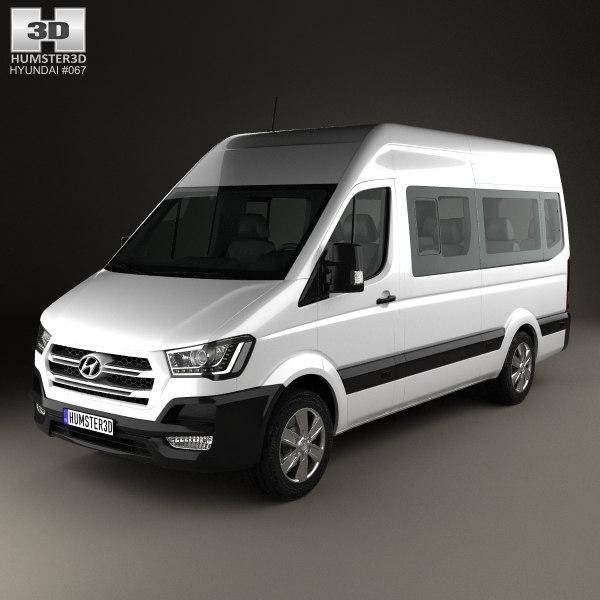 3d model hyundai h350 350