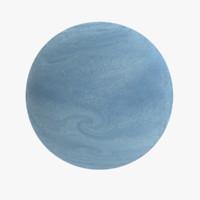 3d oceanic exoplanet model