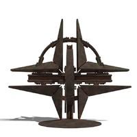 3d nato monument model