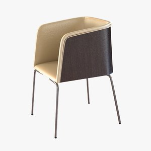 chair pedrali allure 3d 3ds