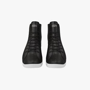 sneakers black 3d max