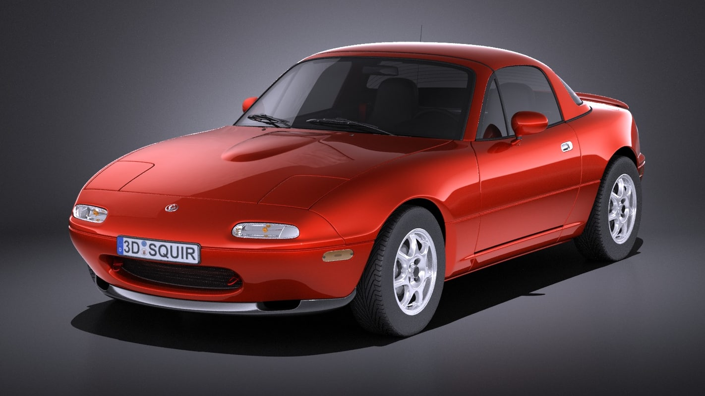 mazda mx 5 miata 3d model. Black Bedroom Furniture Sets. Home Design Ideas