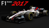 F1 Williams Martini Racing FW40 2017