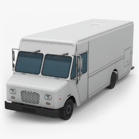 morgan olson step van 3d model