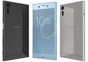 sony xperia xzs colors 3d model