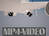 3D Animation Video of Aircraft Take off, Part -4.