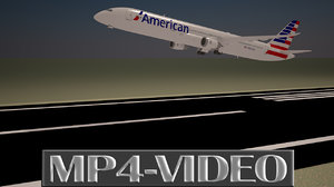 3D Animation Video of Aircraft Take off, Part -1.