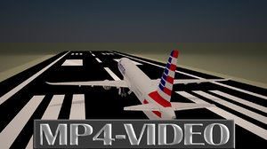3D Animation Video of Aircraft Take off, Part -2.