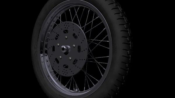 free 21 inch hd wheel 3d model