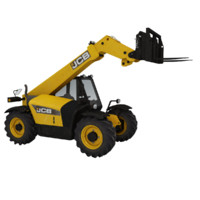 dirt telescopic handler 3d model