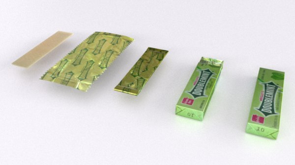 doublemint chewing gum blend
