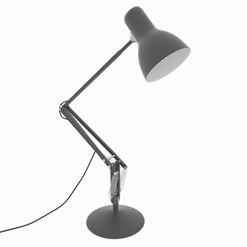 anglepoise type 75 desk lamp 3d max