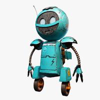 3d max cartoon droid games