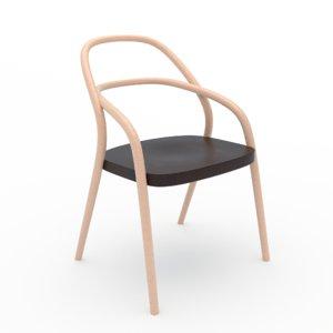 3d model chair 002