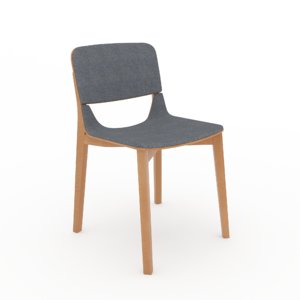 3d chair leaf model