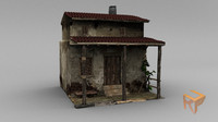 medieval house fbx