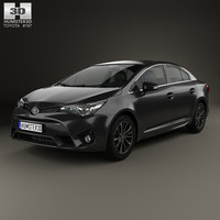 3d toyota avensis t270