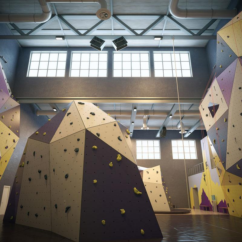 obj climbing wall