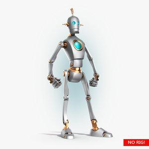 retro robot bot max