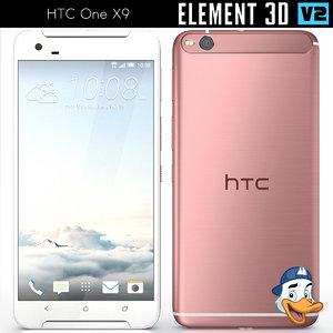 3ds htc x9 element