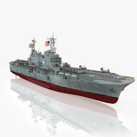 3d model of uss nassau lha-4