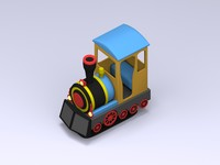 kiddie train 3d ma