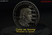 coins trump 3d max