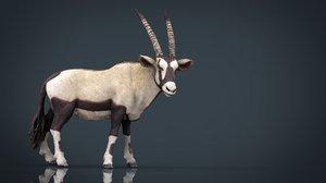 oryx print 3d model