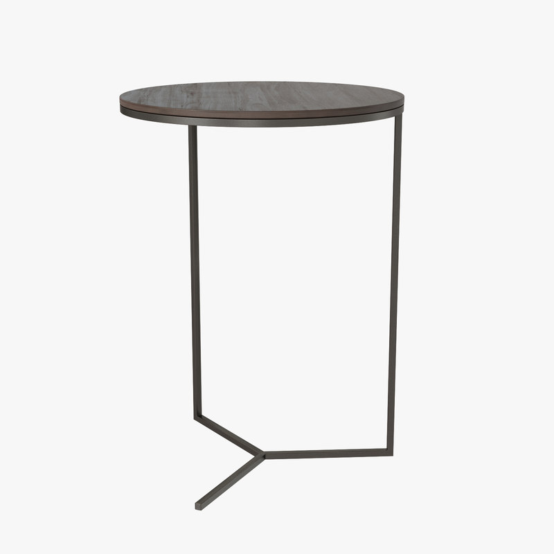 majordome pedestal table y 3ds