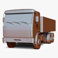 schematical truck 3d model