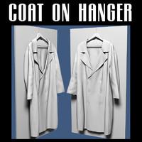 3d coat hanger model