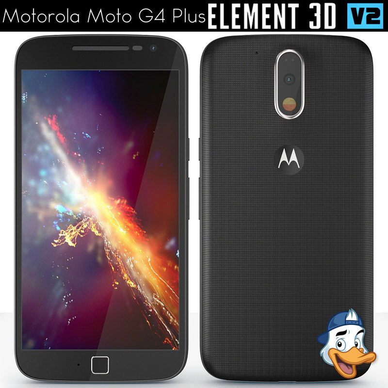motorola moto g4 element 3d model