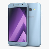 samsung galaxy a5 2017 3d model