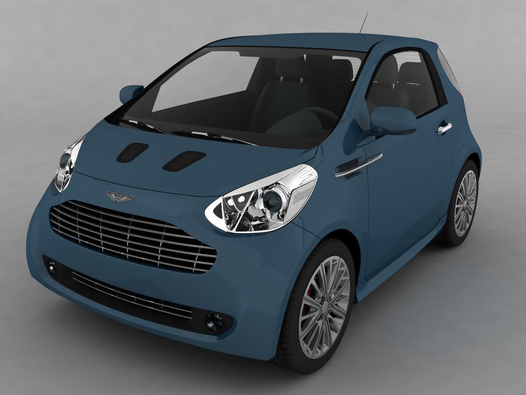 car aston martin cygnet 3d model