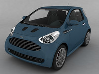 car aston martin cygnet 3d model