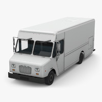 3d morgan olson step van model