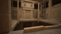 egyptian monuments shaft 3d model