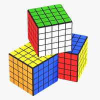 3d logic cubes s model