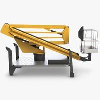 hydraulic human lift 3ds