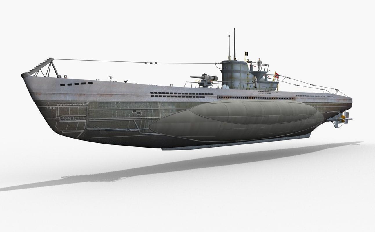 U Boat german u-boat type vii...