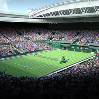 3d model wimbledon centre court