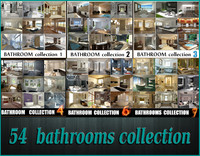 54 Bathrooms pack