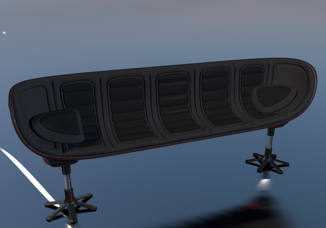 c4d awesome couch